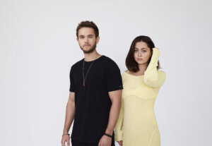 Pressefoto 2020 - Zedd and Jasmine Thompson (Foto Credit: Nick Walker and Andrew Hobbs)