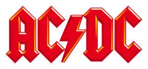 AC/DC - Logo farbig (Credit: Sony Music)