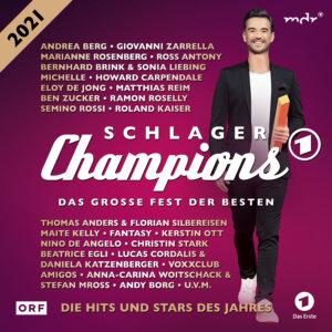 """Various Artists - """"Schlager Champions 2021 – Das Große Fest Der Besten"""" (Nitron Media/Sony Music)"""