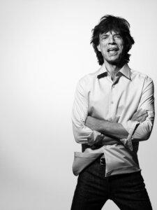 Mick Jagger – Pressefoto (Foto Credit: Bryan Adams)
