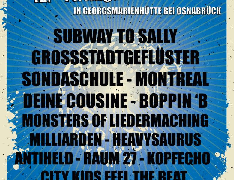 """""""Hütte Rockt Festival 14"""" (12. – 14.08.2021)"""