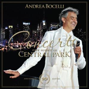 """Andrea Bocelli - """"Concerto, One Night In Central Park"""" (Sugar/Decca Records/Universal Music)"""